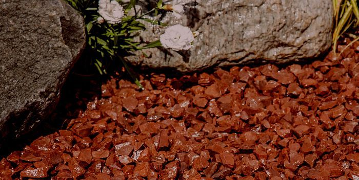 Red Granite Gravel 20mm | Decorative Aggregates | Pathways | Mulching | Driveways | Decorative landscaping