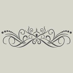 joli pochoir meubles peints pinterest arabesque. Black Bedroom Furniture Sets. Home Design Ideas