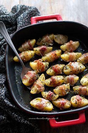 Patate al forno con pancetta, la Ricetta veloce e golosa!