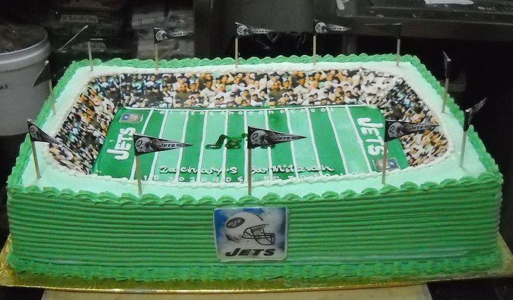 Football Field Cake Ideas