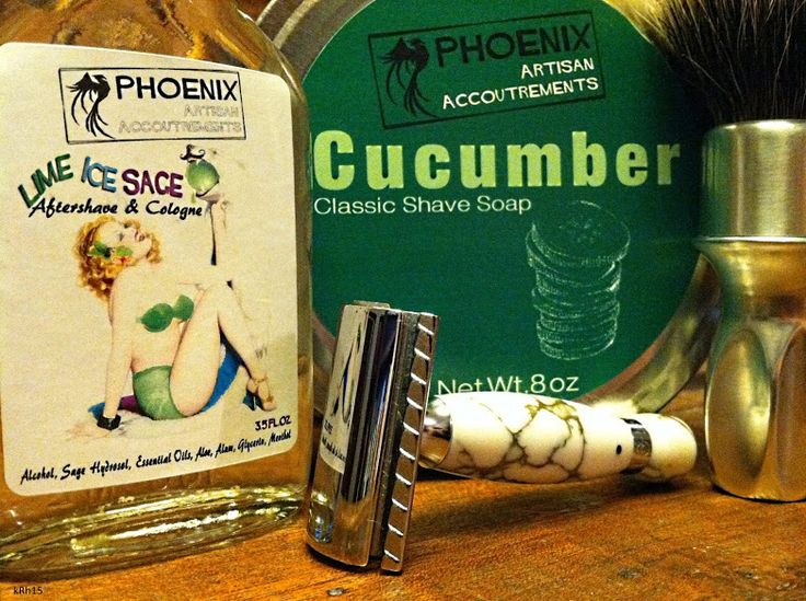 #SOTD  Phoenix Artisan Accoutrements Appreciation  Shave #10 - Georgetown Pottery G20 Scuttle - Rubberset 400 #4 Two Band Badger Brush - The Eskimo Progress In Gold Laced Quartz with a Bolzano Blade - Phoenix Artisan Accoutrements - Cucumber Classic Shaving Soap - Phoenix Artisan Accoutrements - Lime Ice Sage Aftershave & Cologne Tunes - Bryan Ferry - Bete Noir - Leonard Cohen - Dance Me to The End Of Love/Everybody Knows - Stephane Wrembel - Bistro Fada - Dead Combo - Anadamastor