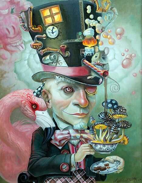 Leslie Ditto - Mad Hatter