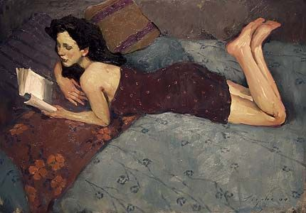 Reading and Art: Malcolm Liepke