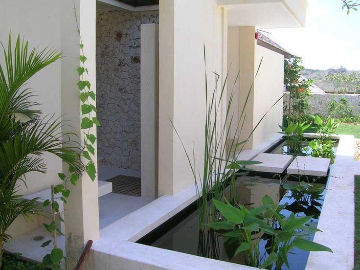 Minimalist garden pond designs