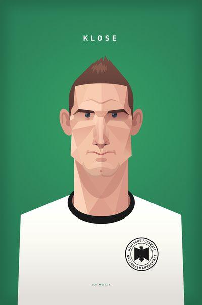 Deutschland Football: Miroslav Klose ~ Daniel Nyari