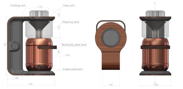 Minibrew: maquina de cerveja artesanal. -  WestinMorg / Blog de Moda Masculina e Variedades