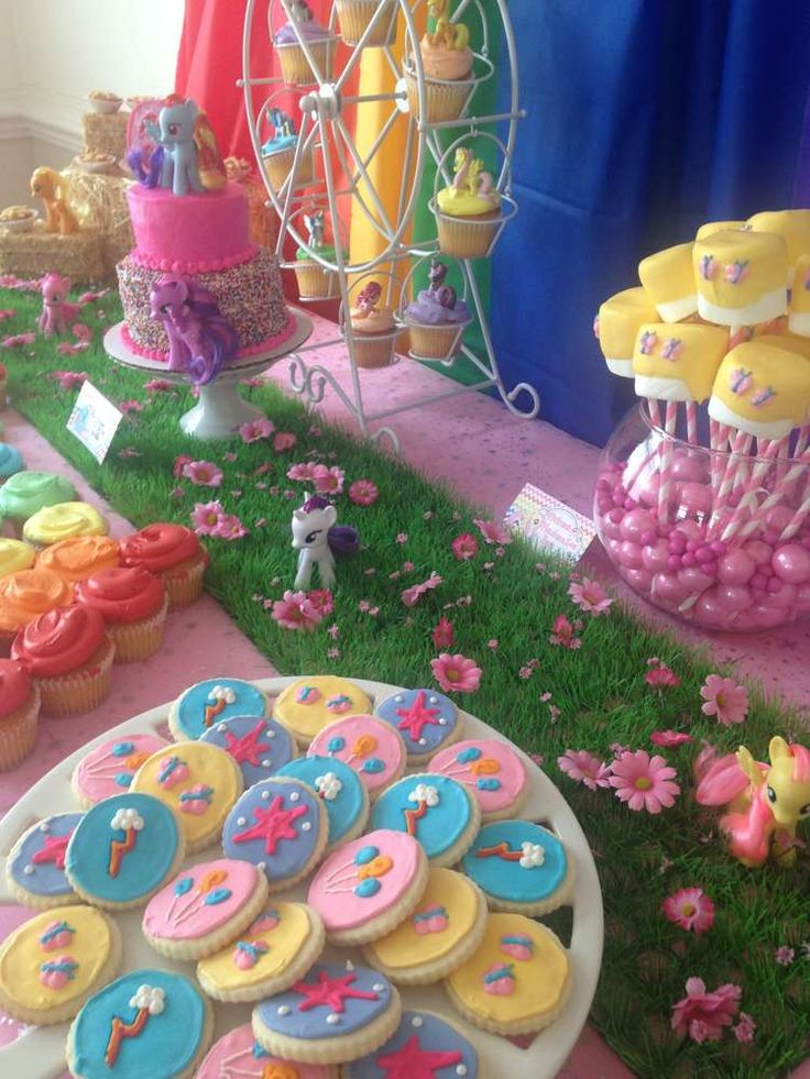 Emma's My Little Pony Party | CatchMyParty.com