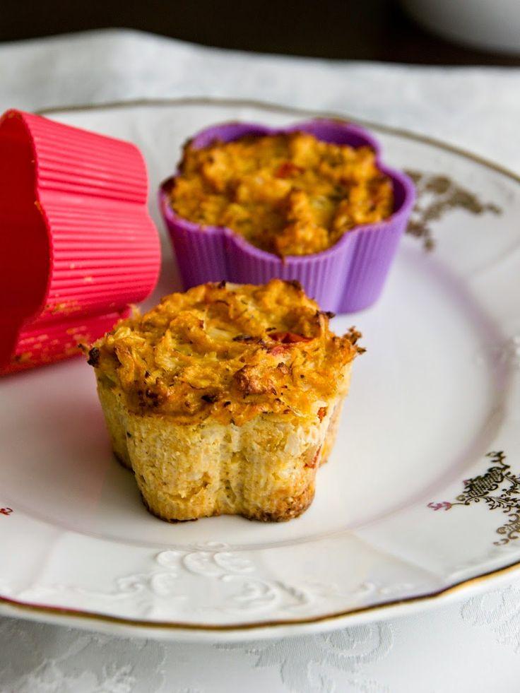 Pradobroty: Květákové muffiny / nákyp