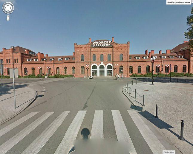 Skierniewice w Google Street View