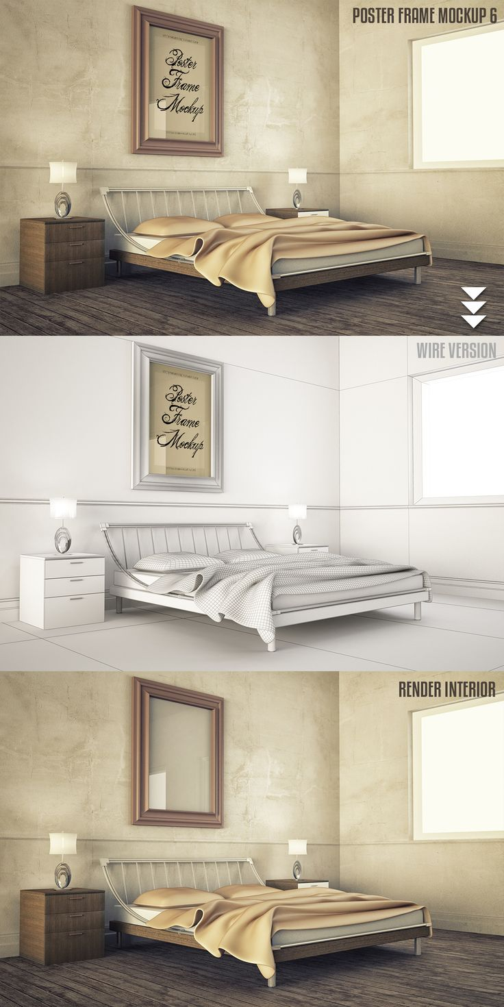 Interior Mock-up by jordygraph on @creativemarket
