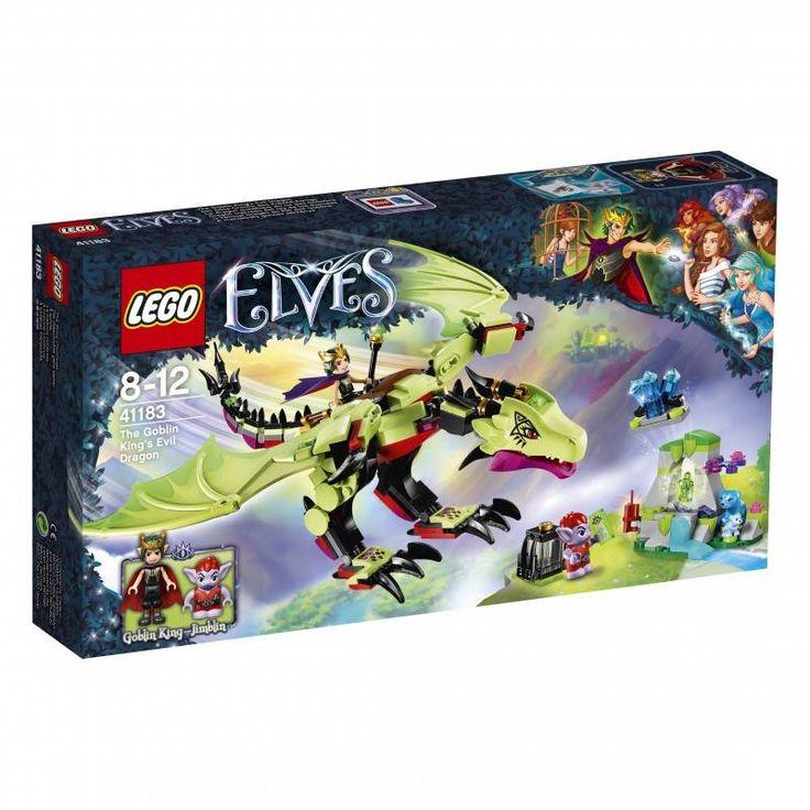 #Lego #LEGO® #41183 LEGO Elves Der böse Drache des Kobold-Königs Gebäudeset Alter: 8-12, Teile: 339. Hier klicken, um weiterzulesen. Ihr Onlineshop in #Zürich #Bern #Basel #Genf #St.Gallen