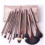 18+Brush+Sets+Kwast+van+geitenhaar+Beugel+Hout+Gezicht+Overige+–+EUR+€+19.59