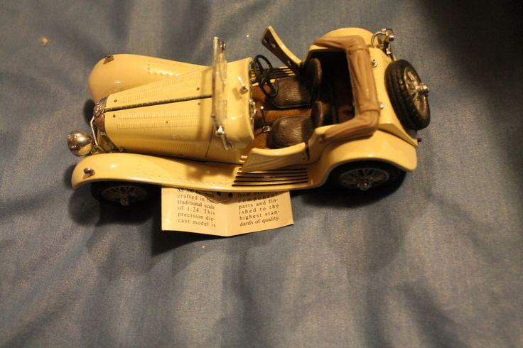1938 Jaguar Model SS-100 / Franklin Mint / 1:24 Scale