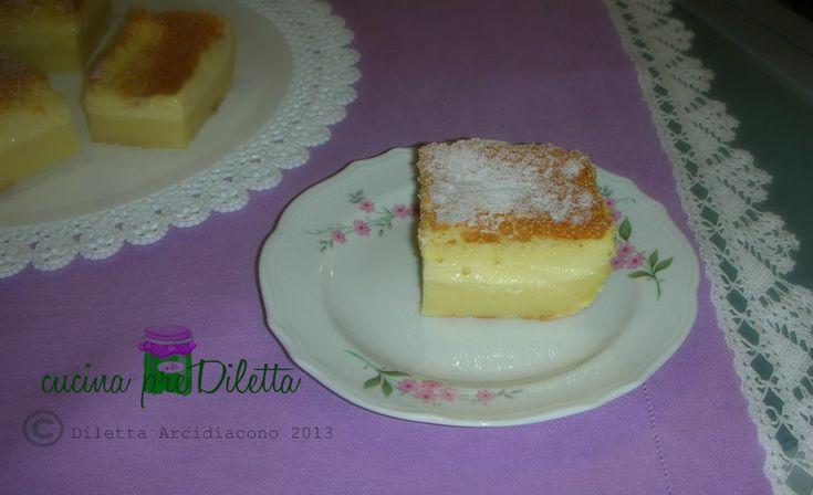 TORTA MAGICA, ricetta dolce