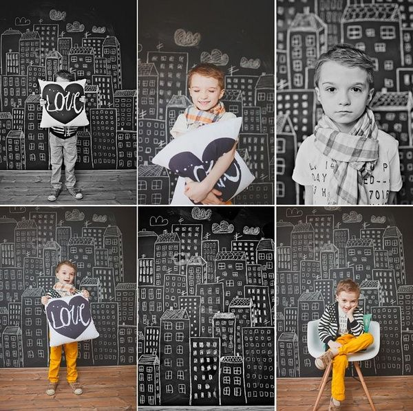Грифельная стена в детской
