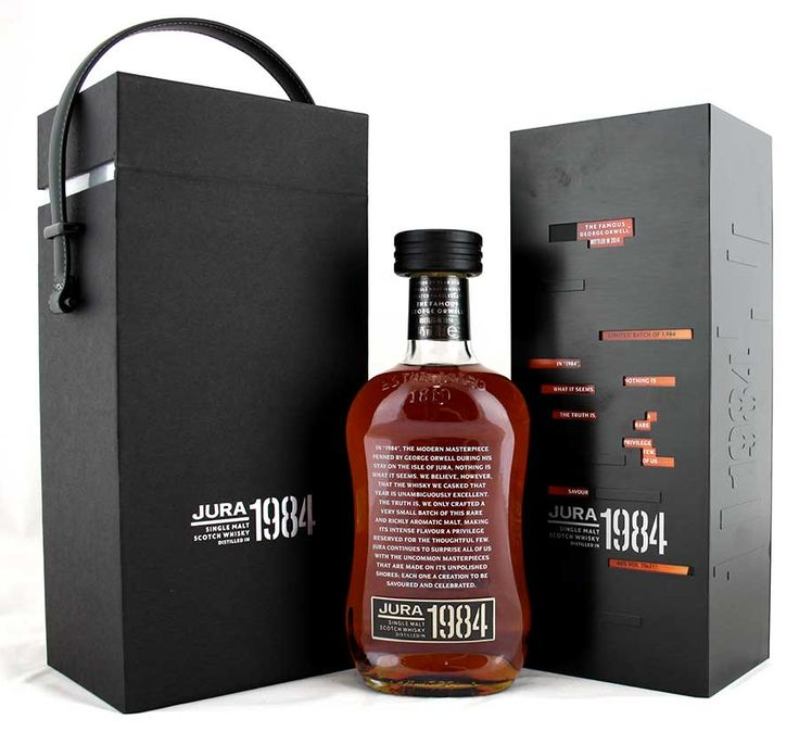 Jura 1984 - 2014 Release George Orwell. 30 Year Old Whisky - Whisky Galore