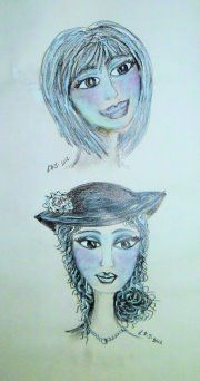 LISA'S ARTY LIFE....: Pencil Sketches....