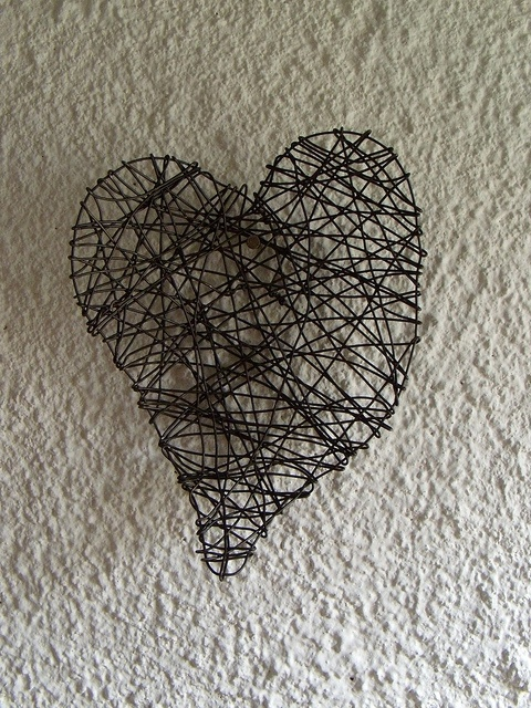 Wrapped Wire Heart