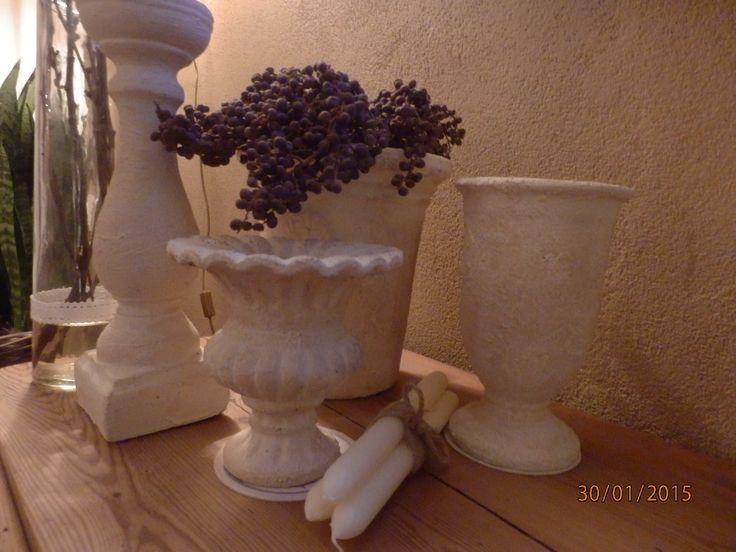 muurvuller, krijtverf en koffieprut