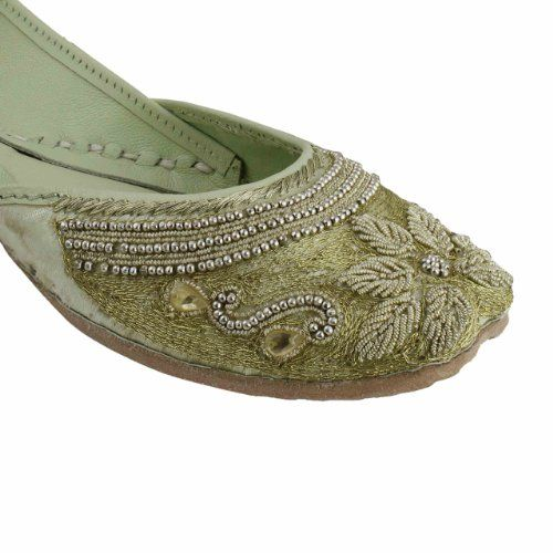 Amazon.com: Beaded Shoes Indian Moccasins For Women Embroidered Handmade Size: 7.5: Shoes