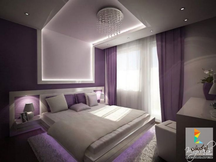 386 best 2017 2018 images on pinterest for Purple bedroom designs modern