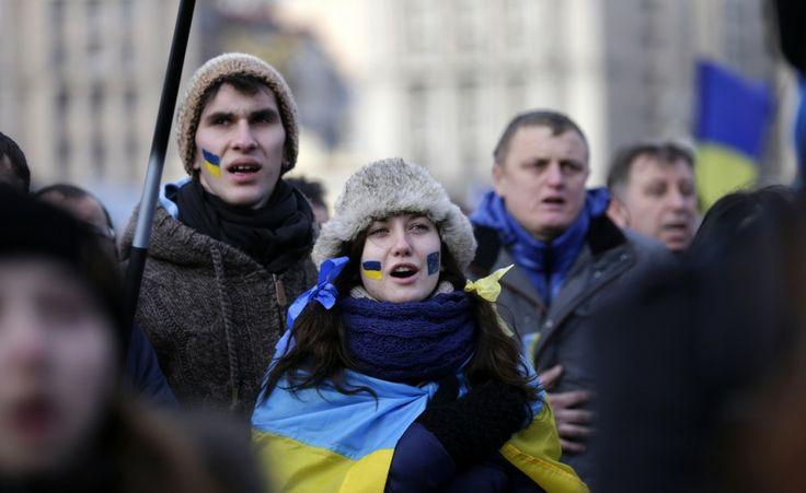 Manifestazioni di massa in Ucraina Immagini delle manifestazioni di protesta a Kiev contro il presidente Viktor Yanukovych (Reuters/Valentyn Ogirenko)