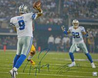 Tony Romo & Jason Witten Dual Signed Dallas Cowboys Action 16x20 Photo