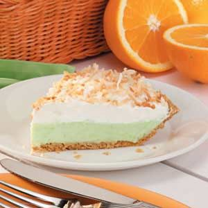 Pistachio Cream Pie. Thought I just invented it in a blaze of genius but nope, it exists.