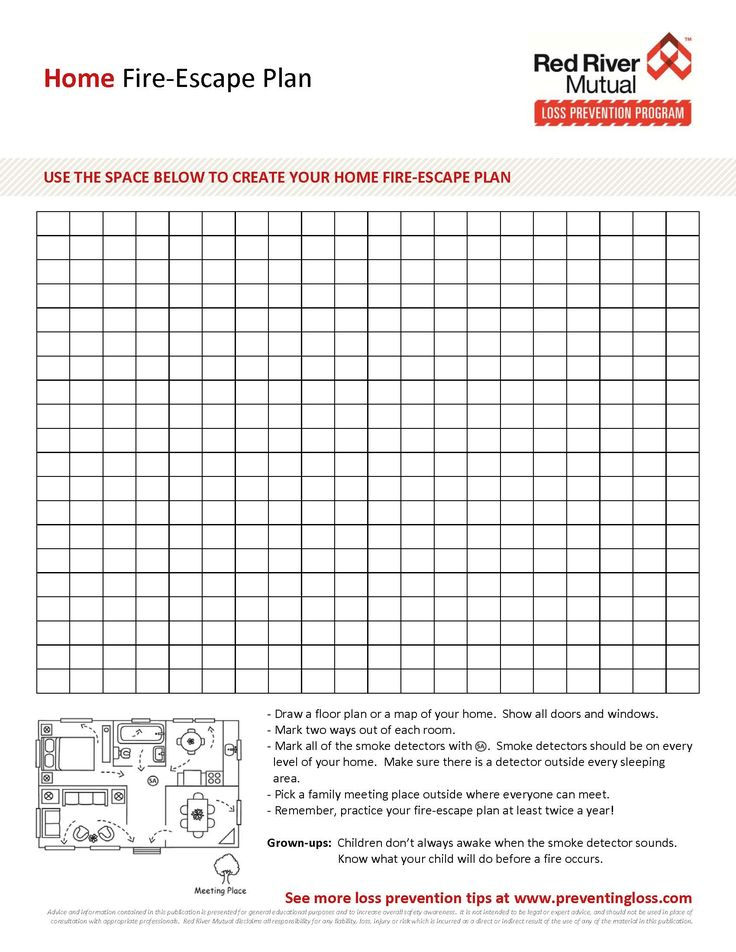 Fire Escape Planning Tool Create Your Home Fire Escape