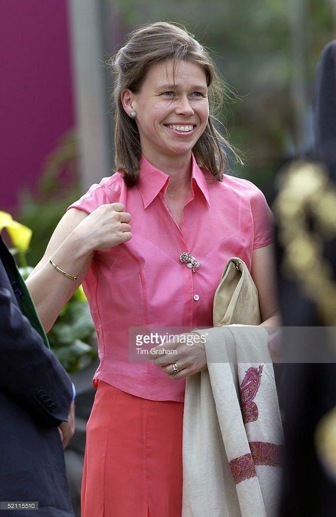 Lady Sarah Chatto At The Annual Chelsea Flower Show