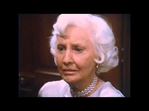 """Eyes are the greatest tool in film. Mr. Capra taught me that. Sure, it's nice to say very good dialogue, if you can get it. But great movie acting - watch the eyes!"" Barbara Stanwyck Scene from The Thorn Birds (1983)"