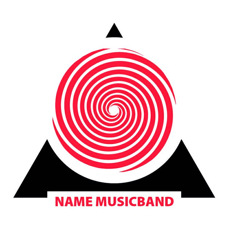 Logo music band , live music, spiral, pyramid, Dentale Diego.  Il mondo non cadrà in questa società umano centrica in cui la figura stessa dell'uomo è vista come fiura maligna che distrugge il mondo, che inquina, taglia foreste, uccide la natura senza scrupoli.
