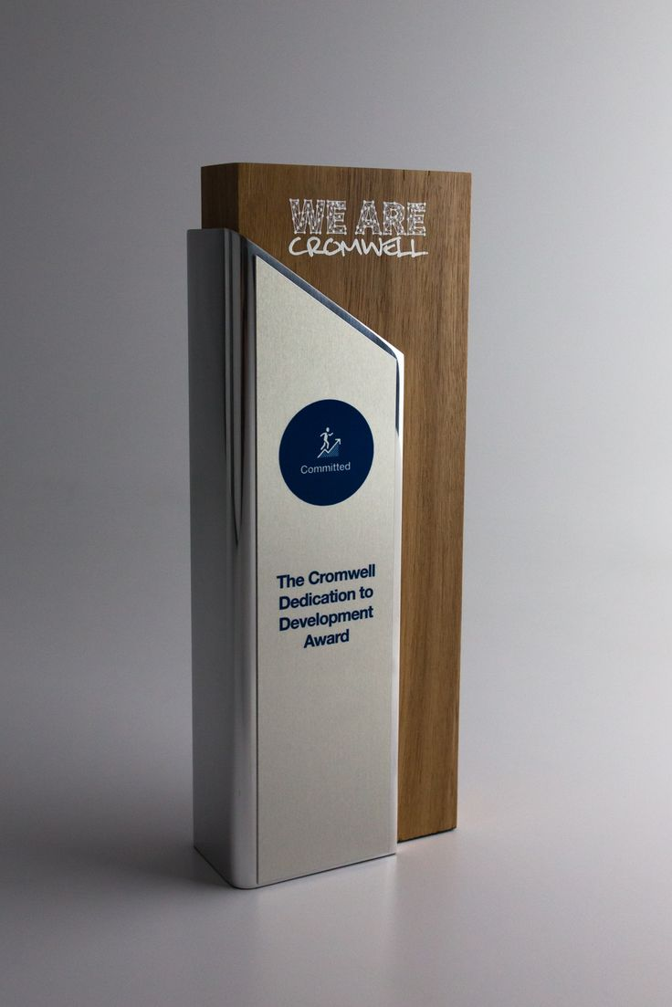 We Are Cromwell Sustainable Perpetual Trophies | Design Awards