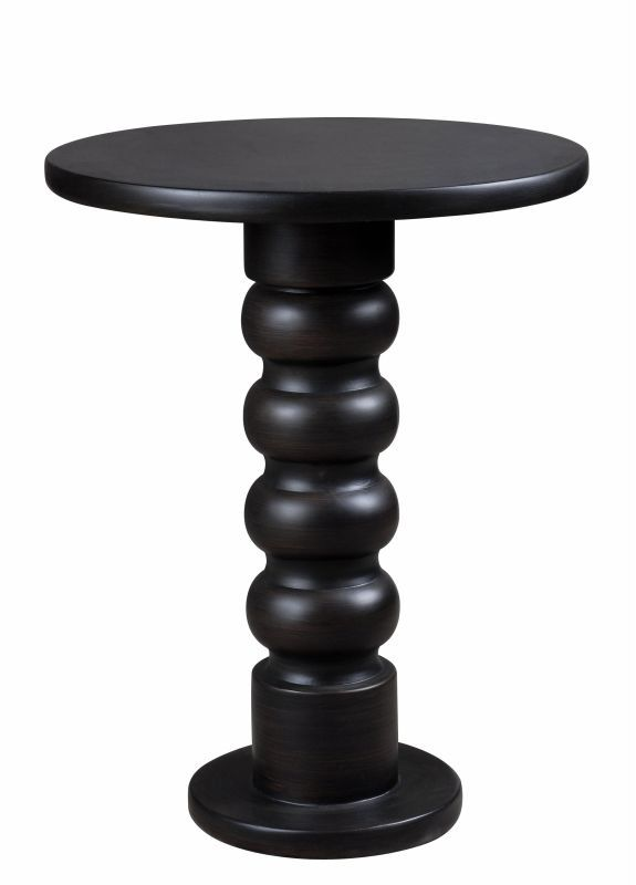 """Kenroy Home 65060 Chimney 24.5"""" Tall Accent Table Satin Bronze Furniture Tables End Tables"""