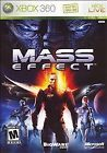 Mass Effect (Microsoft Xbox 360 2007) Mint Condition Complete