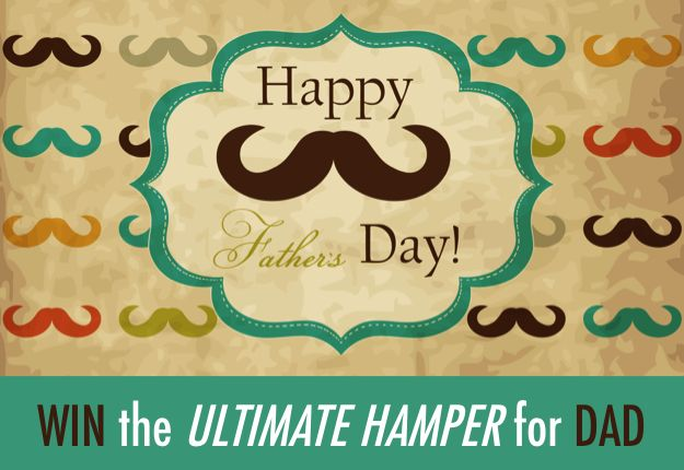 WIN the ultimate Father's Day Hamper - Competition http://www.mouthsofmums.com.au/competition/win-the-ultimate-fathers-day-hamper/?comment=1255116#entercomp