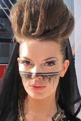 make-up trend 2011: voile veil