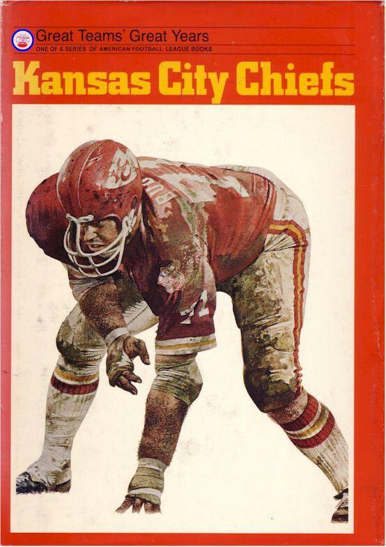 Vintage Kansas City Chiefs literature