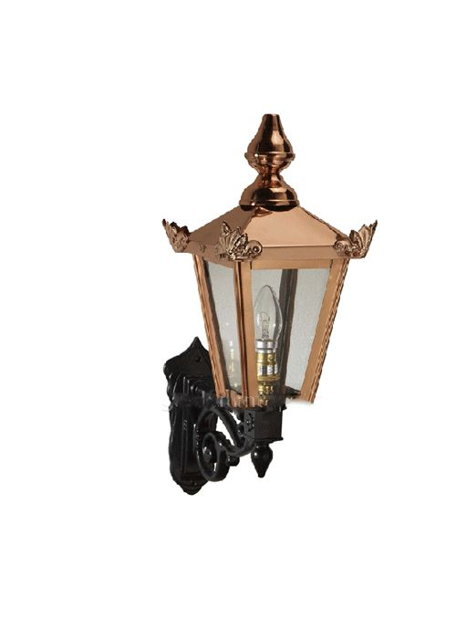 Outside Victorian Wall Light Copper With Ornate Bracket This Beautiful Outside Victorian Copper Light And Ornate Bracket Is Manufactured In A Quality Gauge