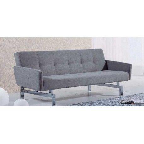 Si necesitas un Sofá Cama que sea fácil su apertura y además elegante este sofá es el que has estado buscando. Tiene una fácil apertura tipo libro con brazos a ambos lados que se pueden desmontar fácilmente sin herramientas al hacerlo cama.