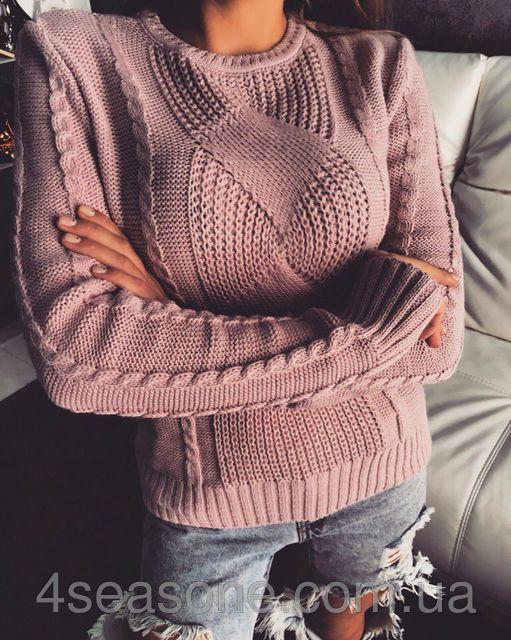 Теплый женский свитер до-903, фото 1