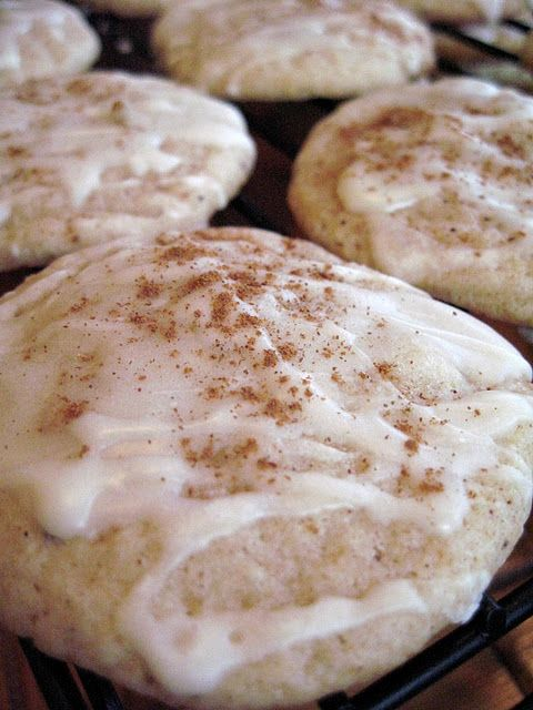 Christmas Eggnog Cookies