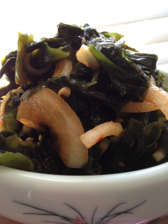 how to cook korean seaweed salad