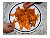 Medifast Butternut Squash French Fries recipe