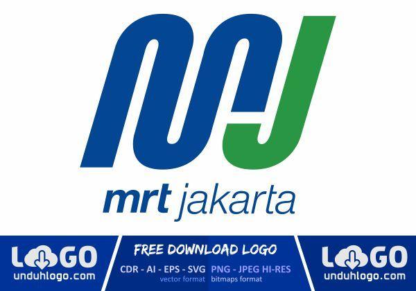 Logo Mrt Jakarta Logos Vector Logo Design Vector Logo