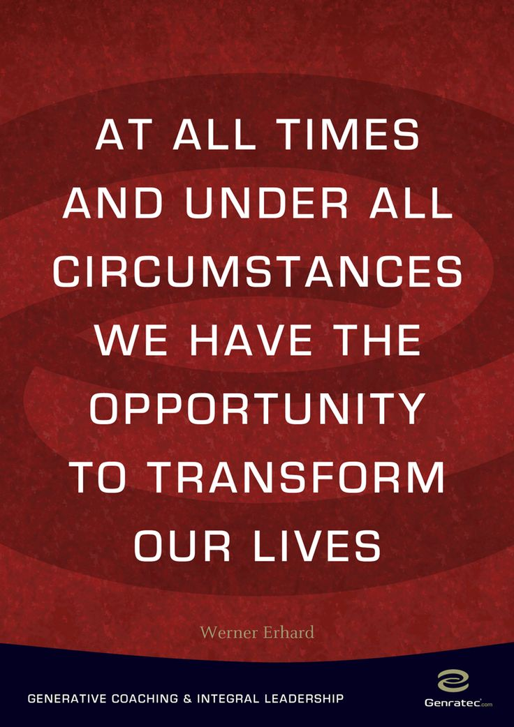 Transform our Lives by Genratec
