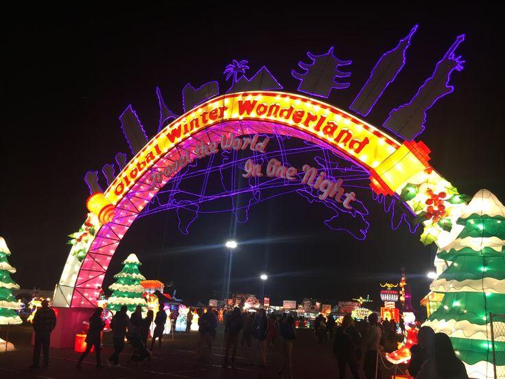 Global Winter Wonderland, San Diego, CA. December, 2017.