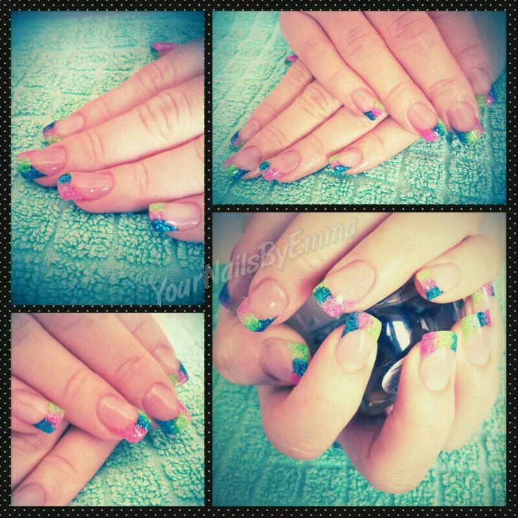 Neon nails xx