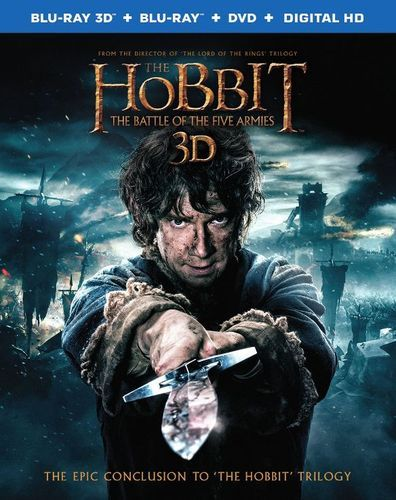Hobbit: The Battle of the Five Armies [Includes Digital Copy] [UltraViolet] [3D] [Blu-ray/DVD] [Blu-ray/Blu-ray 3D/DVD] [2014]