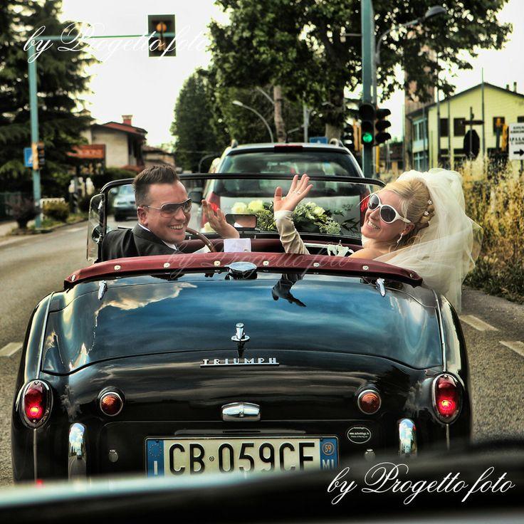 auto d'epoca per matrimonio by Progetto Foto